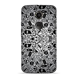 Mobile Back Cover For Motorola X2 (2nd Generation) (Printed Designer Case)