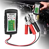 Jtron Mini 12V Automotive Car Battery Tester,LED Digital Alternator Tester Analyzer Auto System Analyzer,6 LED Diagnostic Tool Auto Battery Tester for Car (Color: Black)