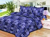 Aarco Polycotton Printed Double Bedsheet