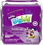 Pull-ups Big Kid Flushable Wipes 204 Count