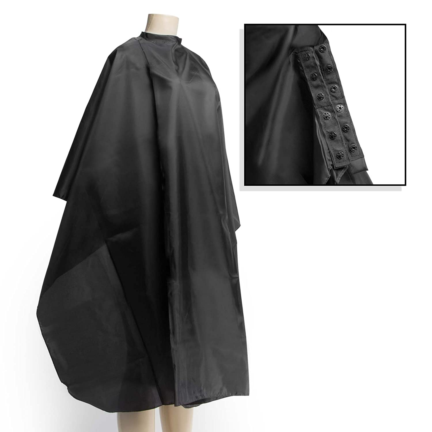 "Salon Sundry Professional Hair Salon Nylon Cape with Snap Closure - 50"" x 60"""