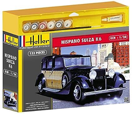 Heller - 50704 - Maquette - Voiture - Hispano Suiza K6 - Echelle 1/24 - Kit