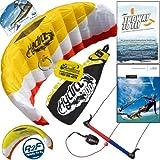 HQ Hydra II 300 V2 Kiteboarding Water Trainer Kite Bundle : Including 'The Way To Fly'... by HQ Power Kites, PASA, IKO, WindBone