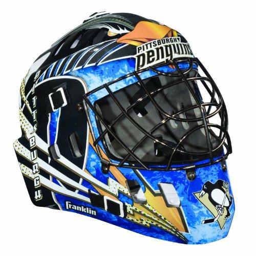NHL Pittsburgh Penguins SX Comp GFM 100 Goalie Face Mask