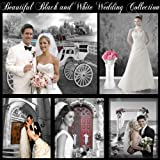 Beautiful Black and White Digital Backgrounds Photography Backdrops Wedding Series Green Screen