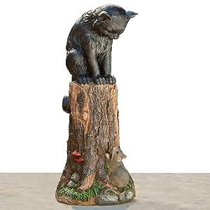Cat & Mouse Garden Statue