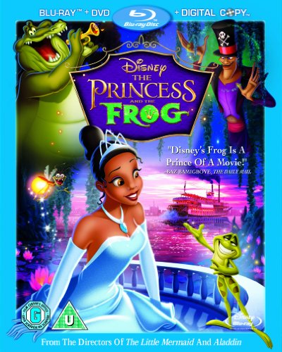 The Princess and the Frog Triple Play (Blu-ray + DVD + Digital Copy)