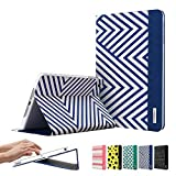 Special Offer for Easter, iPad Mini 3 Case, ESR? The Beat Series Smart Cover Folio Case Stand Case [Ultra Slim] [Light Weight] [Scratch-Resistant Lining] [Perfect Fit] [Auto Wake Up/Sleep Function] Protective Case for iPad mini 3/2/1 (Electric Blues)