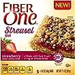 Fiber One Snacks Streusel Bar, Strawberry, 7.1 Ounce