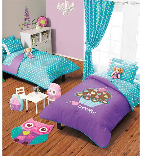 Cupcake Room Ideas : Cupcake Bedding - Totally Kids, Totally Bedrooms - Kids ...