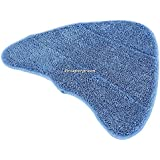 VNC74 Steam Cleaner Mops Cover A Pack Of Two New Style Microfibre Cleaning Pads
