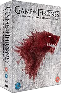 Game of Thrones - Season 1-2 Complete [DVD] [2013]