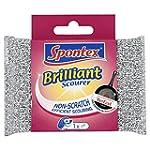 Spontex Brilliant Scourer (Pack of 12)