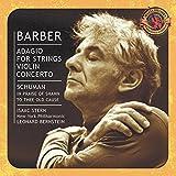 Barber: Adagio for Strings; Violin Concerto / Schuman / Ives / Copland ~ Bernstein / Stern