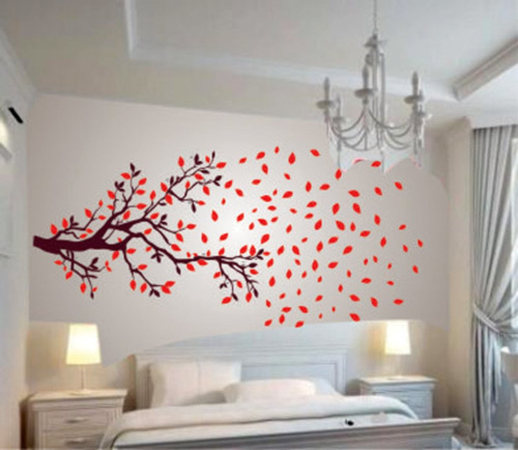Wall stickers extra - Buy Decals Design Lovely Autumn Tree Wall Sticker Pvc Vinyl 60 Cm X 90 Cm Online At Low Prices In India Amazon In
