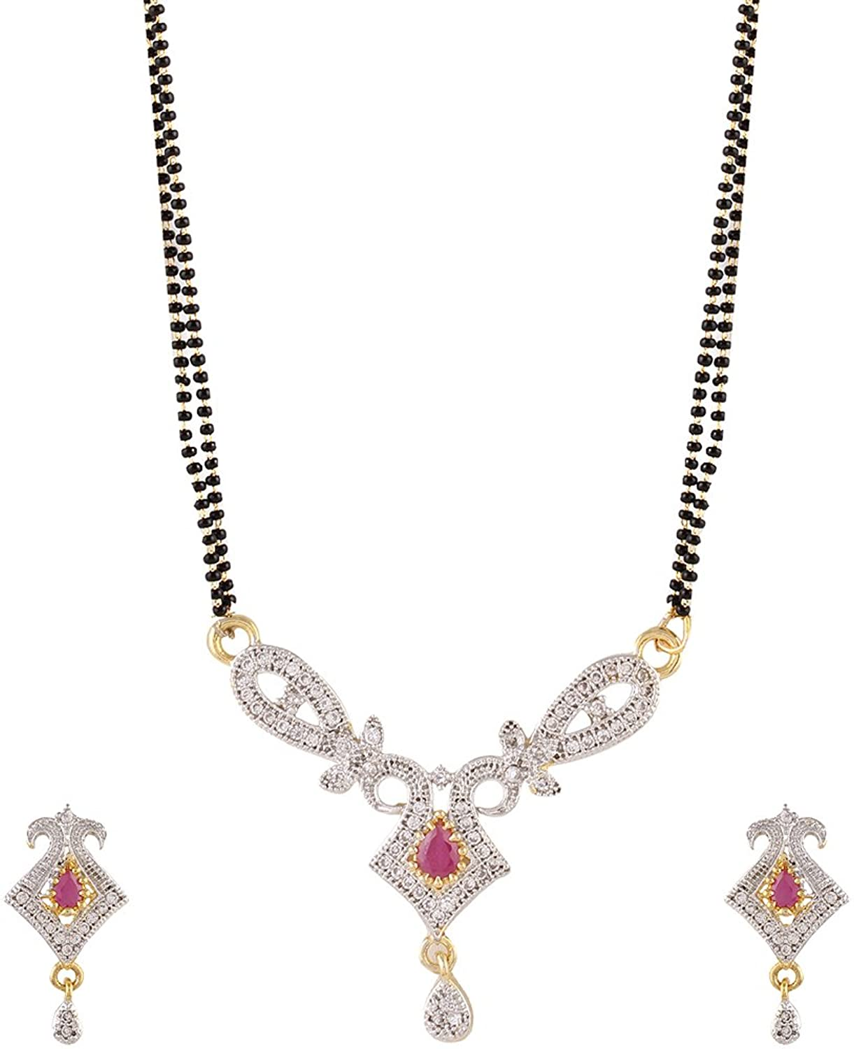 Gold Plated Mangalsutra Set for Women