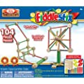 POOF-Slinky - Fiddlestix Classic Wood Connector Set, 104-Pieces, 9104FBBL