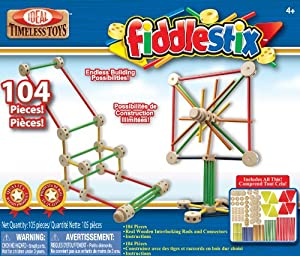104pcs Slinky Poof. Fiddlestix base Builder Set de traîneau