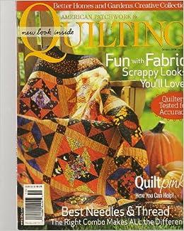 American Patchwork Quilting Magazine October 2006