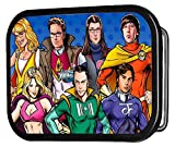 Big Bang Theory TV Series Super Hero Cast Rockstar Belt Buckle