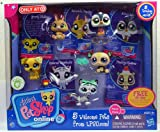 Littlest Pet Shop Online Multi-pack with 5 Trading cards and 5 Welcome Pets from LPSO.com
