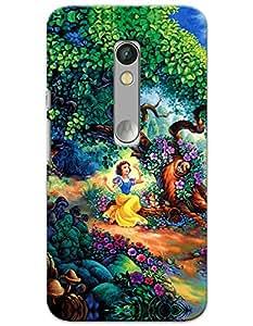 Snow White case for Moto X Play