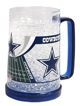 NFL Crystal Freezer Mugs