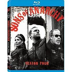 Sons of Anarchy: Season Four [Blu-ray]
