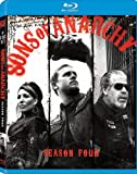 Cover art for  Sons of Anarchy: Season Four [Blu-ray]