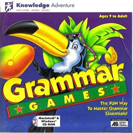 Grammar Games ~ Ages 9 to Adult [Macintosh & Windows]