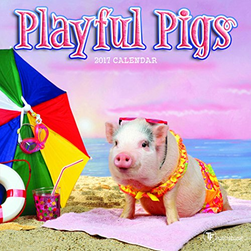 2017 Playful Pigs Mini Calendar