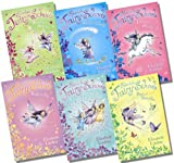 Elizabeth Lindsay Usborne Silverlake Fairy School - 6 Books RRP £29.94 (Unicorn Dreams; Wands and Charms; Ready To Fly; Stardust Surprise; Bugs & Butterflies; Dancing Magic)