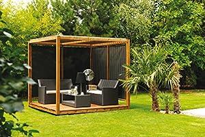 European Fir/Spruce Cubik Wooden Garden Pavilion