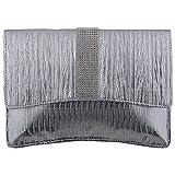 Impress Women's Clutch Sling (Silver) (600000000088)