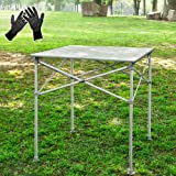 SoBuy Folding Table, Picnic Camping Table, Outdoor Party Banquet Table, 8830-H3