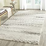 Safavieh Retro Collection RET2136-1180 Modern Abstract Cream and Grey Area Rug (6' x 9')