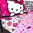 Hello-Kitty-Flower-Girls-Full-Comforter-Sheet-Set-5-Piece-Bed-In-A-Bag-HOMEMADE-WAX-MELT