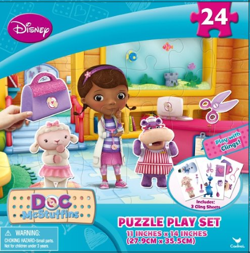 Doc McStuffins Puzzle Play Set 24 Pieces - 1
