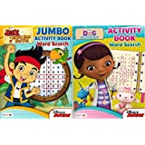 Disney Junior Word Search And Activity Book 2 Pack Featuring Jake The Pirate And Doc Mcstuffins