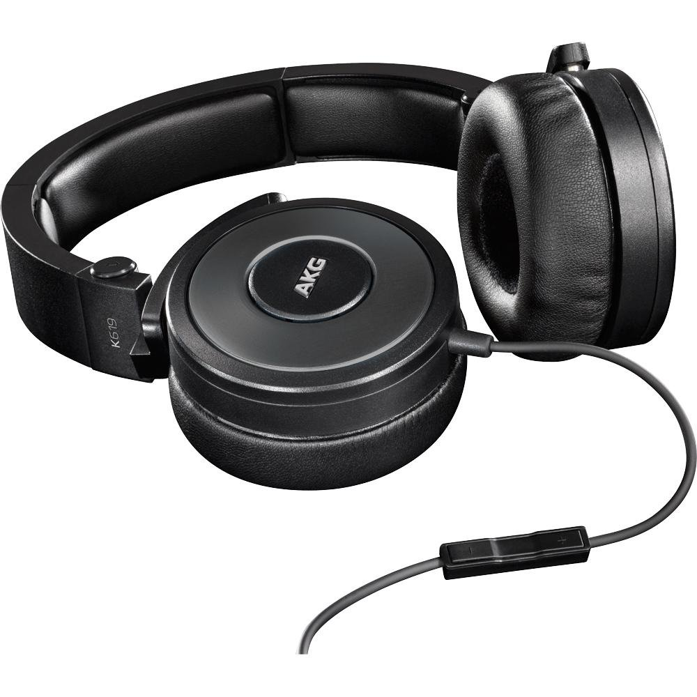 AKG Headphones In-Line Remote and Microphone