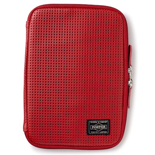 (ヘッド・ポーター) HEAD PORTER | MERGE | iPad mini CASE RED