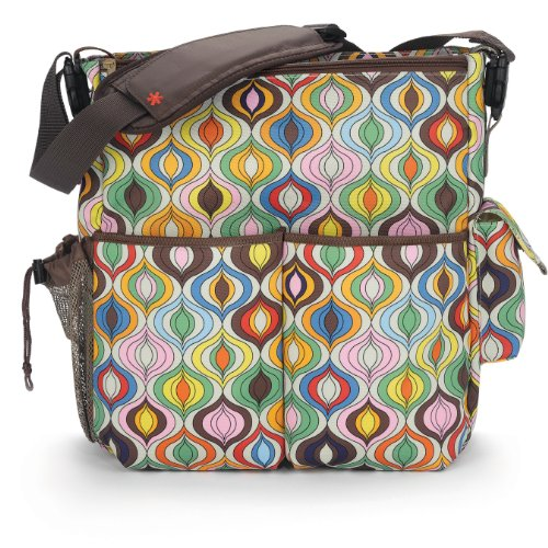 skip hop jonathan adler dash diaper bags wave multi designer nappy bags. Black Bedroom Furniture Sets. Home Design Ideas