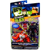 Ben 10 Ultimate Alien Six Six And Rath V.1 Pack Of 2 Action Figures