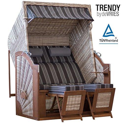 STRANDKORB TRENDY PURE CLASSIC XL SUN SEASHELL DESSIN 423 günstig