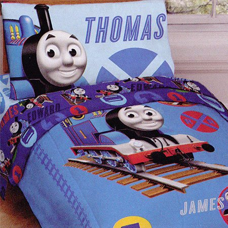 Thomas Train Railroad Bedding Set U2013 4pc RR Crossing Toddler Bed Set