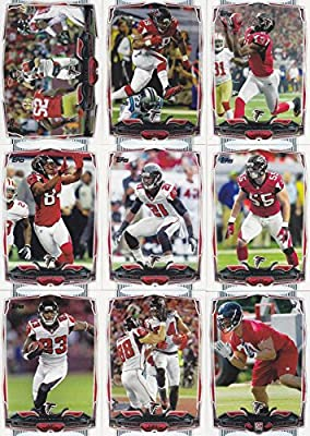 Atlanta Falcons 2014 Topps NFL Football Complete Regular Issue 13 Card Team Set Including Matt Ryan, Steven Jackson, Julio Jones and Others