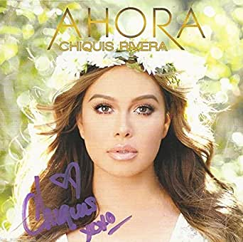 Chiquis Rivera singer REAL hand SIGNED Ahora CD #2 Autographed Jenni
