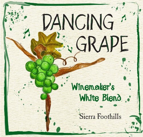 Nv Dancing Grape Winemakers Sierra Foothills White Blend 750 Ml