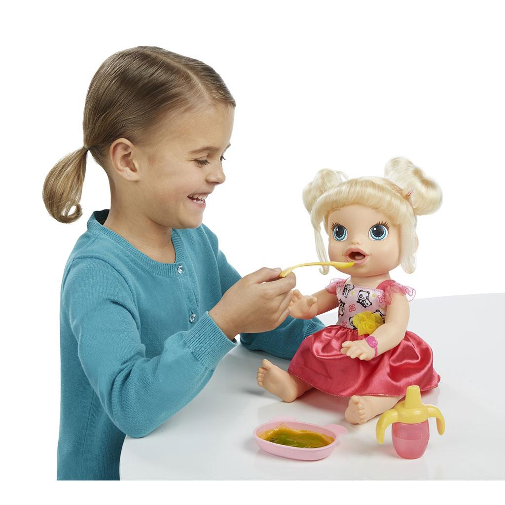 Amazon.com: Baby Alive My Baby All Gone Doll, Blonde: Toys & Games