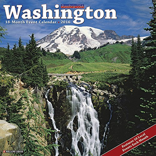 2016 Washington Wall Calendar